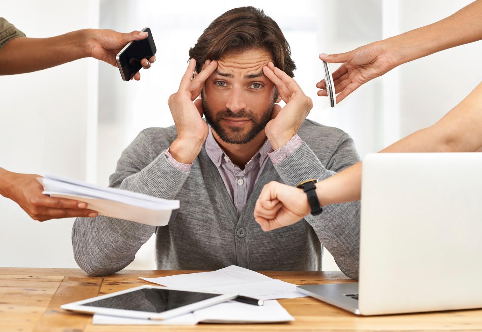 Kiểm soát căng thẳng, mệt mỏi