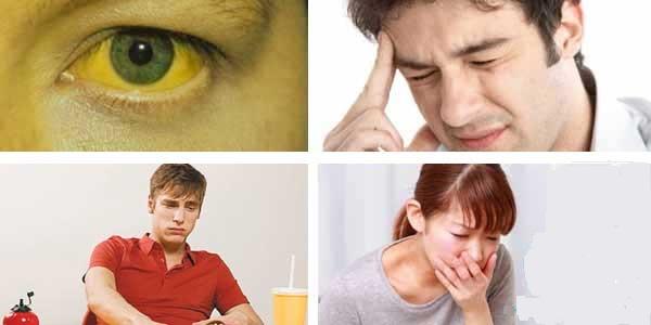 Các triệu chứng sớm của bênh ung thư gan