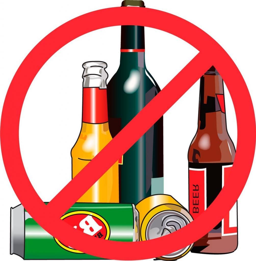 Nói không với rượu bia và các nước uống có cồn