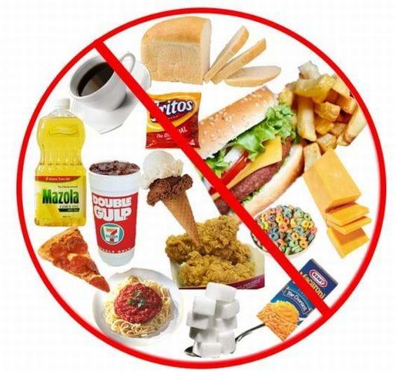 Hạn chế những đồ ăn dầu mỡ và cay nóng