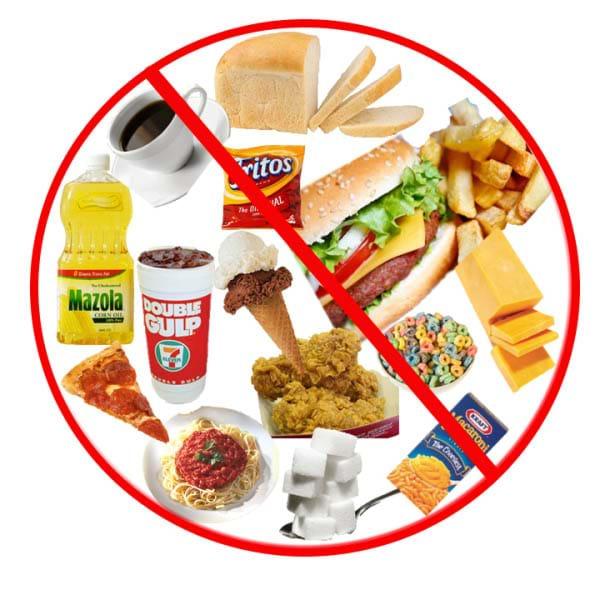 Hạn chế đồ ăn nhiều dầu mỡ, chất béo, muối và đường