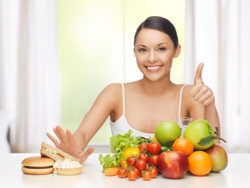 Chế độ ăn uống hợp lý giúp giảm men gan hiệu quả