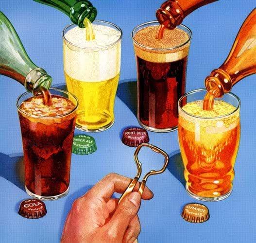 Đồ uống có ga khiến tình trạng men gan càng trở nên trầm trọng
