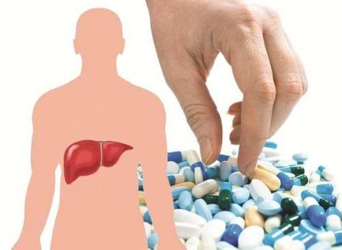 Tổn thương gan là một tác dụng phụ có thể xảy ra của nhiều loại thuốc
