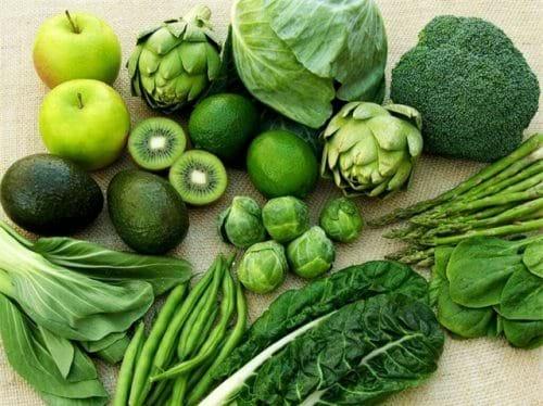 Ăn nhiều protein và rau xanh rất tốt cho người bị gan nhiễm mỡ độ 1