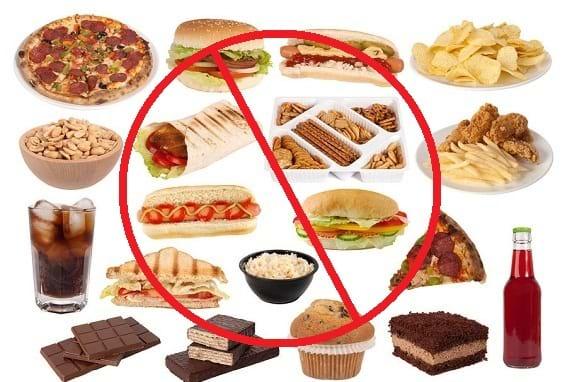 Hạn chế đồ ăn nhanh, chế biến sẵn nhiều chất béo và dầu mỡ