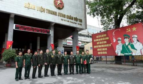 Bệnh viện Quân đội 108 - Khoa bệnh lây qua đường máu – Viện lâm sàng các bệnh truyền nhiễm