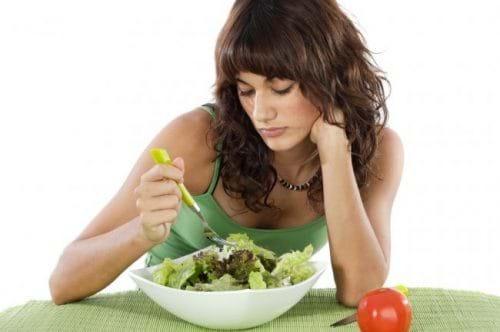 Nếu bạn ăn kiêng hoặc bị biếng ăn, bạn có thể bị gan nhiễm mỡ