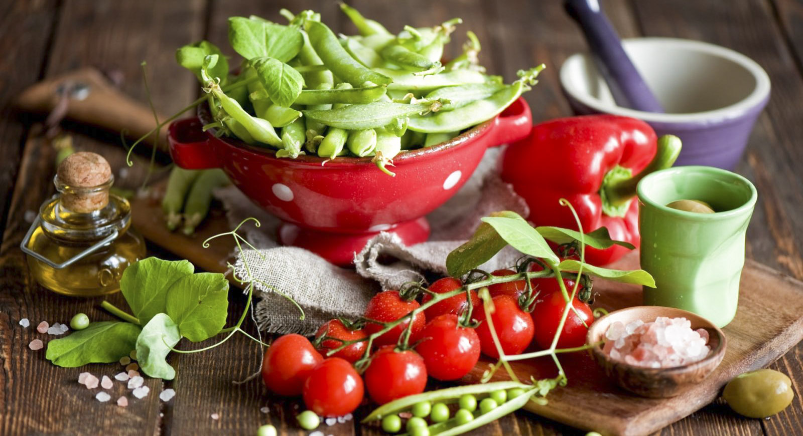 Thực phẩm đa dạng giúp tăng cảm giác ngon miệng